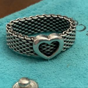 SOLD- Tiffany & Co. Somerset Ring